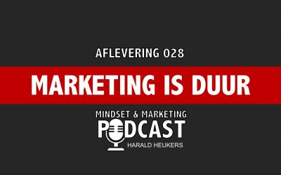 Podcast 028 – Online Marketing Is Duur En Moeilijk