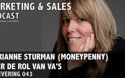 Podcast 043 – Marianne Sturman (Monneypenny) over VA's